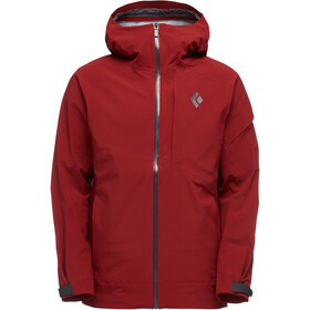 Black Diamond Recon Stretch Ski Shell Jacket Herr Red oxide
